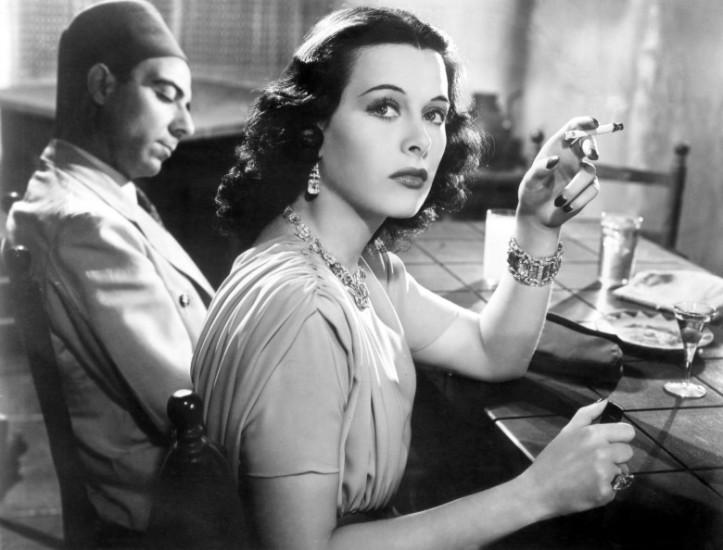 ALGIERS, Joseph Calleia, Hedy Lamarr, 1938